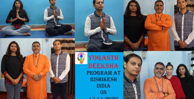 Yogasth Deeksha